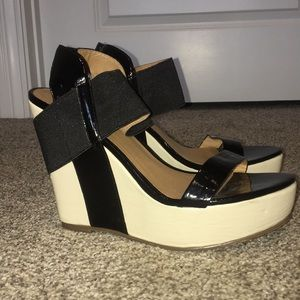 Matisse Two Tone Barbary Wedges